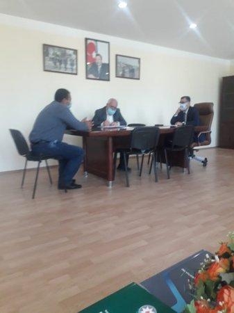 Novruz Aslanov seçiciləri qəbul etdi